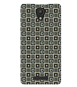 Printvisa Grey Black Illusion Check Pattern Back Case Cover for Xiaomi Redmi Note 2::Xiaomi Redmi Note 2 (2nd Gen)