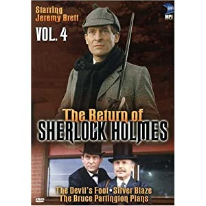 The Return of Sherlock Holmes, Vol. 4 - The Devil's Foot / Silver Blaze / The Bruce Partington Plans movie