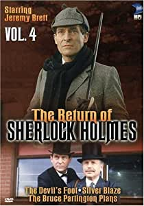 The Return of Sherlock Holmes, Vol. 4 - The Devil's Foot / Silver Blaze / The Bruce Partington Plans