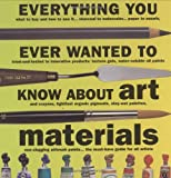 James Hobbs Everything You Ever Wanted to Know about Art Materials (Quarto Book)