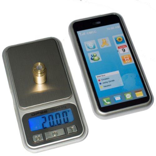 Joshs mRI balance numérique xP - 100 g à 0,01 g à 100 g, carat, grain, balance, balance de voyage, pèse-personne numérique