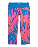 Under Armour Big Girls HeatGear® Sonic Printed Capri