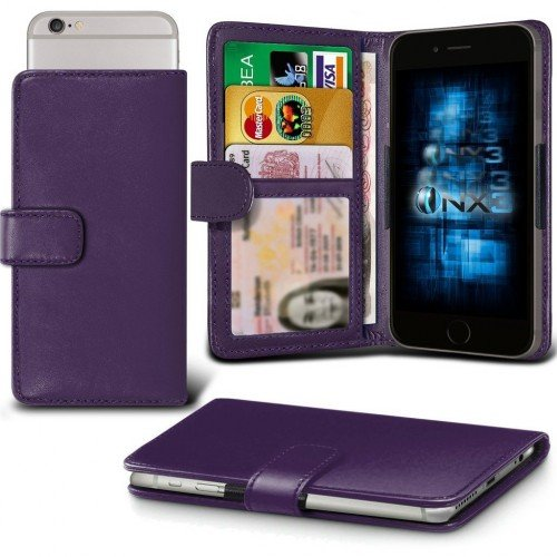 Samsung Galaxy J1 Ace Adjustable Spring Wallet ID Card Holder Case Cover (Purple) Plus Free Gift, Screen Protector and a Stylus Pen, Order Now Best Valued Phone Case on Amazon! By FinestPhoneCases (Samsung Ace 2x compare prices)