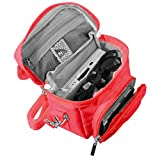 G-HUB Game & Console Travel Bag for Nintendo DS (Fits all Foldable Screen Versions including: Original DS / DSi / DS Lite / 3DS / 3DS XL / New 3DS / New 3DS XL) Red