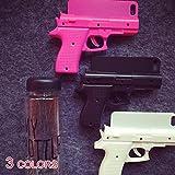 ピストル型スマホケース 銃 マツコ会議で大人気![iPhone 6plus/6Splus/6/6S/5/5S/5c対応] 5c ブラック