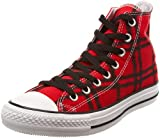 Converse Unisex Chuck Taylor AS Punk Plaid Print Hi Lace-Up