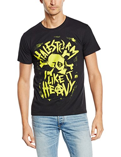 Plastic Head - Halestorm Punk Skull, T-Shirt uomo, Schwarz - Schwarz, Medium