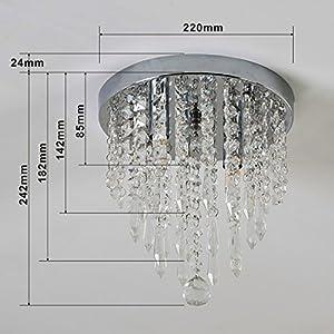 Lifeholder mini chandelier crystal chandelier lighting 2 lights lifeholder mini chandelier crystal chandelier lighting 2 lights flush mount ceiling light aloadofball Image collections