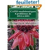 CAPES mathématiques : 8 problèmes de 2012 à 2014