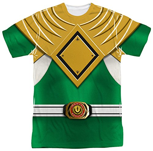 Power Rangers - Green Ranger T-Shirt Size S (Power Rangers Green Tshirt compare prices)
