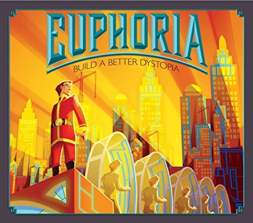 Euphoria: Build a Better Dystopia Board Game by Stonemaier Games (Euphoria Board Game compare prices)