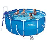 "Bestway 56088 Frame Pool ""Steel Pro"" Set mit Filterpumpe"
