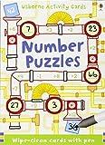 Number Puzzles (Usborne Puzzle Cards)