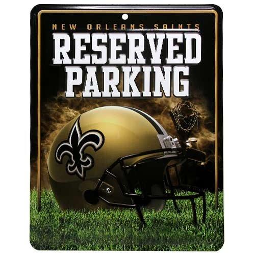 NFL New Orleans Saints Parking Sign