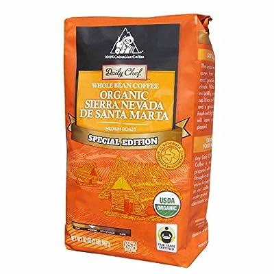 Daily Chef Organic Sierra Nevada de Santa Marta Coffee, Whole Bean (32 oz.)