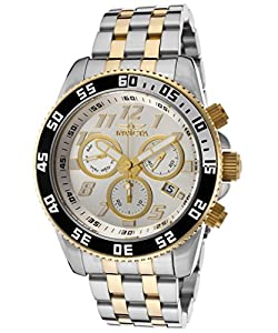 Invicta Men's 15503 Pro Diver Analog Display Swiss Quartz Two Tone Watch