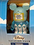 Disney DVC Vacation Club Park Exclusive 2013 Welcome Home Vinylmation 3&quot; Figure Boxed Golden Key to the Kingdom Walt Disney World Wdw New Welcome Home