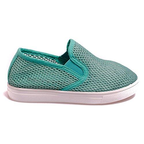 Colors of California Laceup20k bambina, tela, sneaker slip on, 39 EU