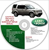 Land Rover Discovery 4 2009 - 2012 Workshop Repair Manual