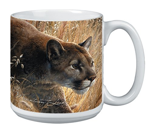 Cougar Mug, 20-Ounce Ceramic Coffee Mug