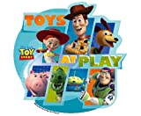 Toy Story at Play Edible Cupcake Toppers Decoration