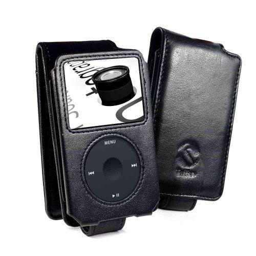 tuff-luv-flip-style-custodia-di-pelle-apple-ipod-classic-nero