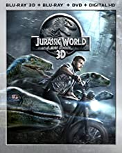 Jurassic World [Blu-ray 3D + Blu-ray + DVD + Digital HD] (Bilingual)