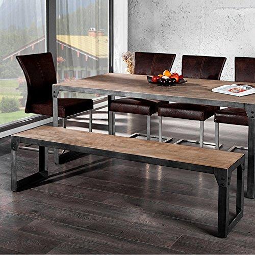 design-sitzbank-industrial-160cm-akazie-grau-bank-holzbank-teakgrau-gekalkt-metallkorpus