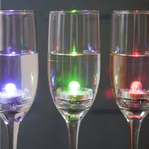 Color Changing Submersible Led Flower Tea Lights With