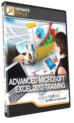 Advanced Microsoft Excel 2013 Training - Training DVD