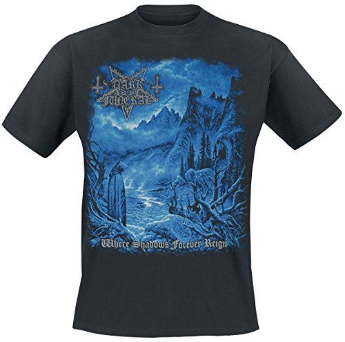 Dark Funeral Where shadows forever reign T-Shirt nero XL