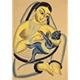 Jashoda nursing Krishna (Print On Demand)
