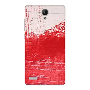 Stylish Red Fresh Texture Back Case Cover for Redmi Note Prime