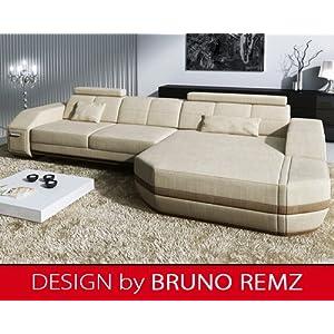 online bestellen bruno remz n rburg lg design sofa couch ecksofa eckcouch wohnlandschaft. Black Bedroom Furniture Sets. Home Design Ideas