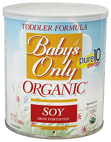 Nature'S Baby Organic Soy Iron Fortified Toddler Formula 12.7 Oz (Pack Of 1)