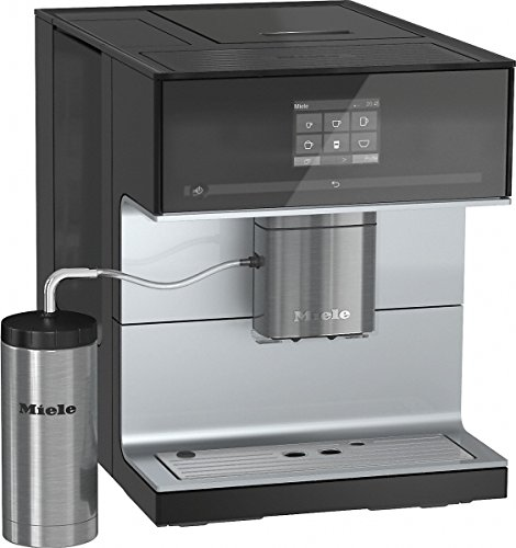 Miele CM7300 Stand-Kaffeevollautomat (Coffee und Tea, OneTouch- und OneTouch for Two-Zubereitung, C-Touch Display) Obsidianschwarz thumbnail