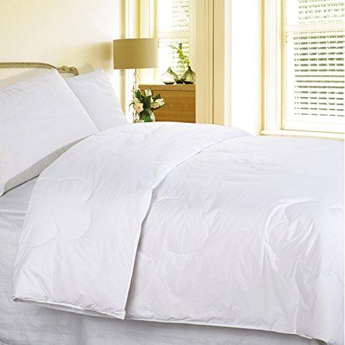 White Twin 240 Thread Count Cottonloft Comforter front-337893