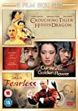 Curse Of The Golden Flower/Fearless/Crouching Tiger, Hidden... [DVD]
