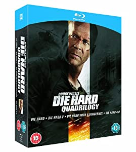 Die Hard Quadrilogy [Blu-ray] [1988]