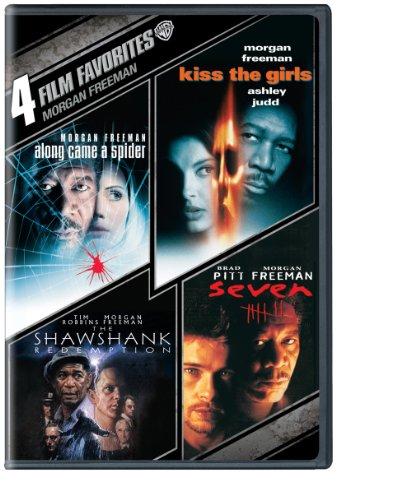 4 Film Favorites: Morgan Freeman (Dvd) (Along Came A Spider, Kiss The Girls, Seven, Shawshank Redemption)