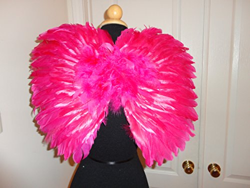 Butterfly Fairy Wings Pink Feather Children's Costume Ages 3+