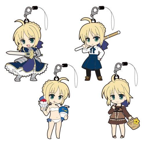 ぴくりる!  Fate/saber trading strap -フェイト/セイバー トレーディングストラップ-  (BOX)