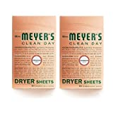 Mrs. Meyer's Clean Day Dryer Sheets, Geranium, 80 ct-2 pack