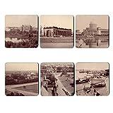 The Gallery Shop Vintage Kolkata Coasters