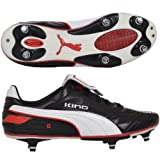 King Finale SG Football Boots Black/Red