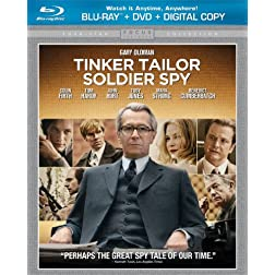 Tinker, Tailor Soldier, Spy (2-Disc Blu-ray + DVD + Digital Copy + UltraViolet)