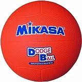 ミカサ 教育用ドッジボール2号 オレンジ 小学校用 D2 O