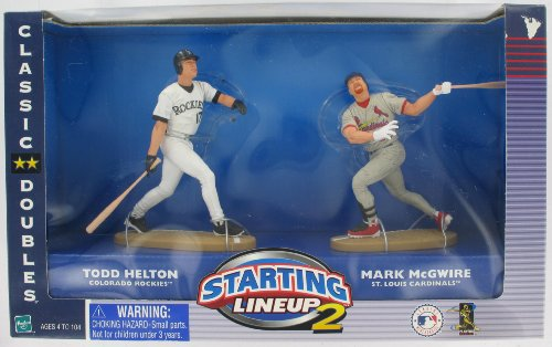Starting Lineup 2 Classic Doubles Mark McGwire and Todd Helton