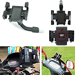 2010kharido Universal Bike Motor Cycle Mobile Cell Holder Stand Mount Bracket For All Phones