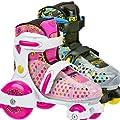 Roller Derby Girl's Fun Roll Adjustable Roller Skate by Roller Derby